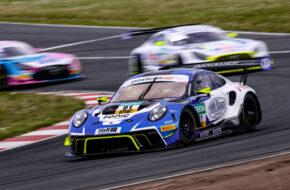 David Jahn Marco Holzer Joos Sportwagentechnik Porsche 911 GT3 R ADAC GT Masters Oschersleben