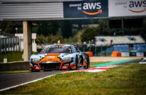 Benjamin Goethe Kelvin van der Linde WRT Audi R8 LMS GT3 GT World Challenge Europe Magny Cours