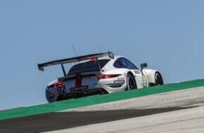 Kevin Estre Neel Jani Michael Christensen Porsche GT Team Porsche 911 RSR FIA WEC Portimao