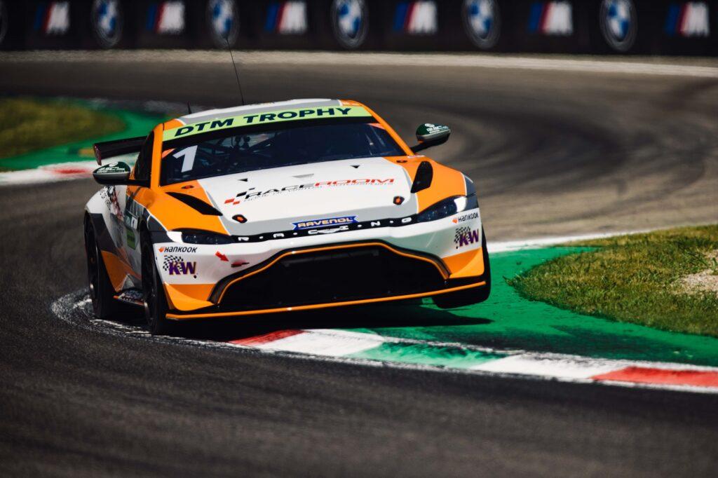 Tim Heinemann PROsport Racing Aston Martin Vantage AMR GT4 DTM Trophy Monza