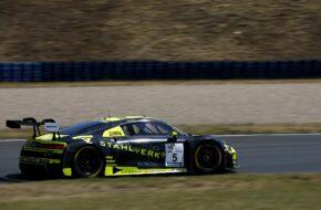 Salman Owega Phoenix Racing Audi R8 LMS GT3 GTC Race Oschersleben