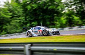 Tobias Müller Laurens Vanthoor Romain Dumas Julien Andlauer Rutronik Racing Porsche 911 GT3 R 24h Nürburgring