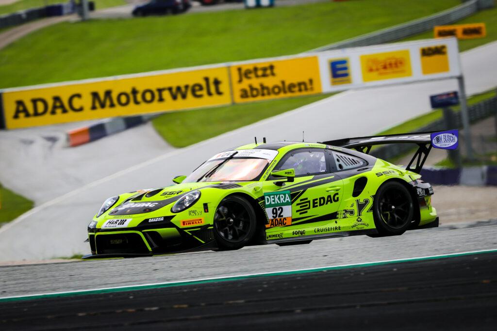 Michael Ammerüller Mathieu Jaminet SSR Performance Porsche 911 GT3 R ADAC GT Masters Red Bull Ring