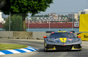 Nick Tandy Tommy Milner Corvette Racing Corvette C8.R IMSA WeatherTech SportsCar Championship Detroit