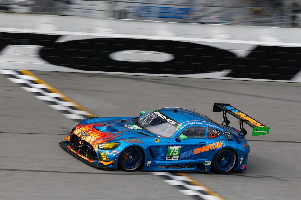 Kenny Habul Luca Stolz Mikael Grenier Raffaele Marciello SunEnergy1 Racing Mercedes-AMG GT3 IMSA WeatherTech SportsCar Championship 24h Daytona