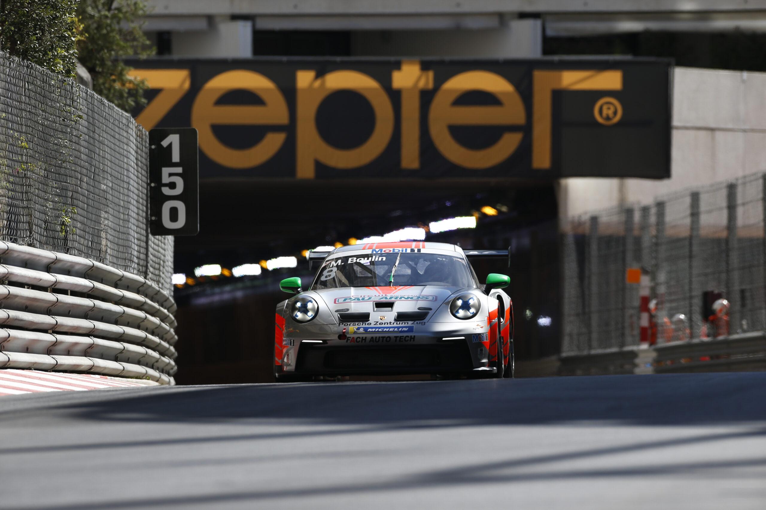 Maxime Boulin Fach Auto Tech Porsche 911 GT3 Cup Porsche Supercup Monaco