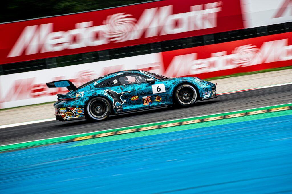 Carlos Rivas Black Falcon Team Textar Porsche 911 GT3 Cup Porsche Carrera Cup Deutschland Monza