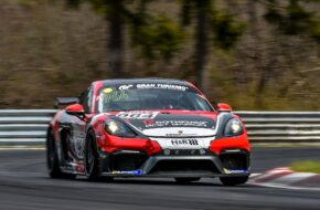 Axel Friedhoff Max Friedhoff Aimpoint Racing Porsche 718 Cayman GT4 Clubsport MR Nürburgring Langstrecken-Serie Nürburgring-Nordschleife