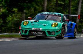 Alessio Picariello Martin Ragginger Falken Motorsports Porsche 911 GT3 R Nürburgring Langstrecken-Serie Nürburgring-Nordschleife