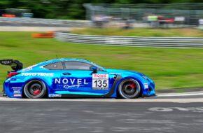 Michael Tischner Heiko Tönges Ring Racing Lexus RC F Nürburgring Langstrecken-Serie Nürburgring-Nordschleife
