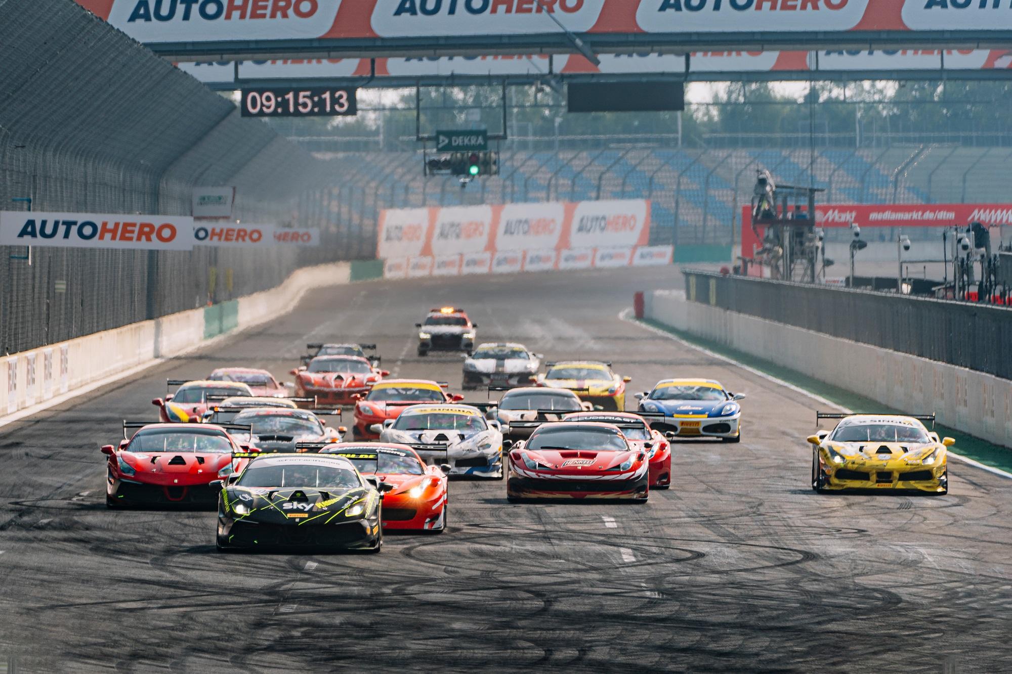 Ferrari Club Deutschland Racing Series Lausitzring