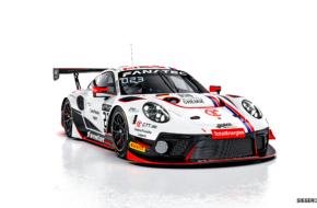 Niki Leutwiler Ivan Jacoma Jacob Schell Nico Menzel Huber Motorsport Porsche 911 GT3 R
