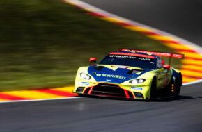 Augusto Farfus Paul Dalla Lana Marcos Gomes Aston Martin Racing Aston Martin Vantage GTE FIA WEC Spa-Francorchamps