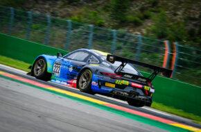 Bastian Buus Julien Apotheloz Lars Kern Allied-Racing Porsche 911 GT3 R GT World Challenge Europe Endurance Cup Testtag 24h Spa