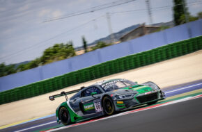 Fabien Lavergne Christopher Mies Attempto Racing Audi R8 LMS GT3 GT World Challenge Europe Misano