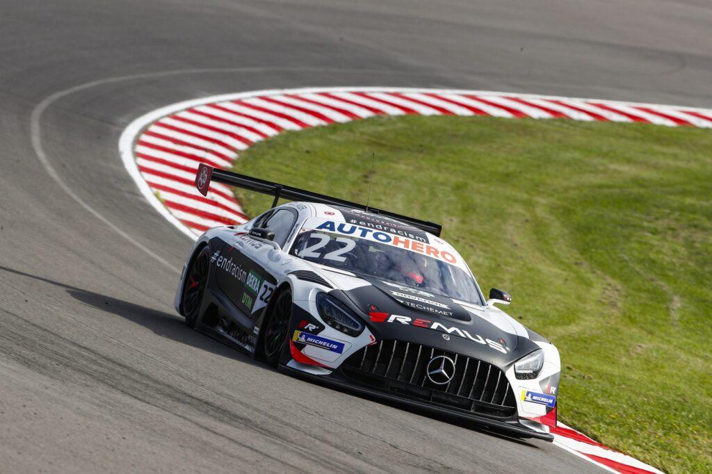 Lucas Auer WINWARD Racing Mercedes-AMG GT3 DTM Lausitzring