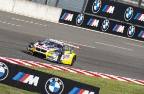 Sheldon van der Linde ROWE Racing BMW M6 GT3 DTM Lausitzring