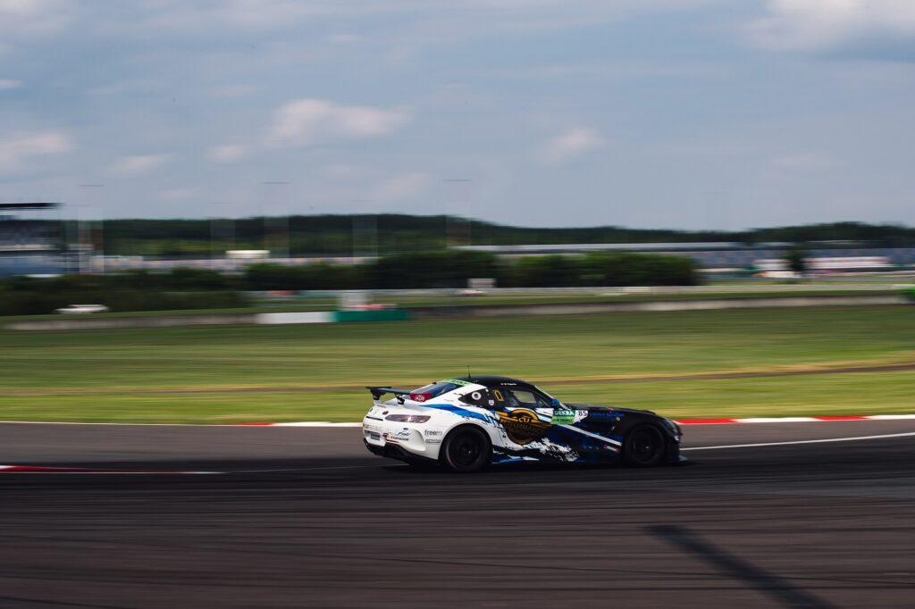 Will Tregurtha CV Performance Group Mercedes-AMG DTM Trophy Lausitzring