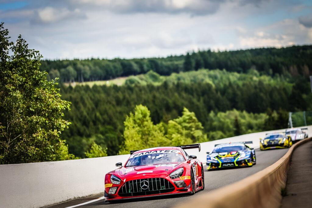 Nick Catsburg Maximilian Buhk Maximilian Götz HubAuto Racing Mercedes-AMG GT3 GT World Challenge Europe Endurance Cup 24h Spa
