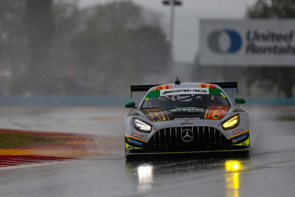 Michael de Quesada Daniel Morad Alegra Motorsports Mercedes-AMG GT3 IMSA WeatherTech SportsCar Championship Watkins Glen