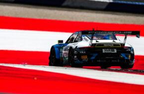 David Jahn Marco Holzer Joos Sportwagentechnik Porsche 911 GT3 R ADAC GT Masters Red Bull Ring