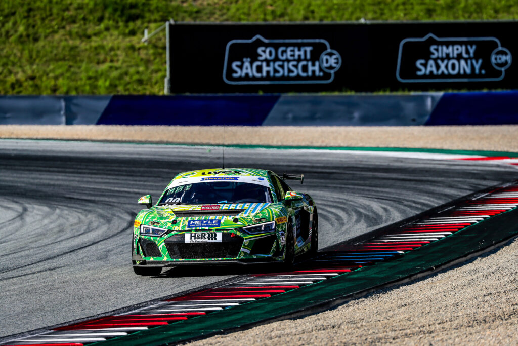 Oliver Mayer Lukas Mayer T3 Motorsport Audi R8 LMS GT4 ADAC GT4 Germany Red Bull Ring