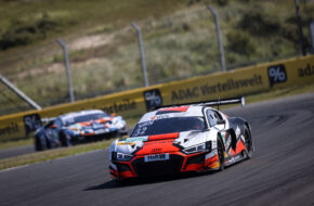 Charles Weerts Dries Vanthoor Team WRT Audi R8 LMS GT3 ADAC GT Masters Zandvoort