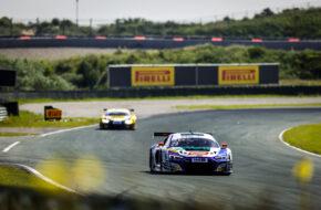 Ricardo Feller Christopher Mies Montaplast by Land-Motorsport Audi R8 LMS GT3 ADAC GT Masters Zandvoort
