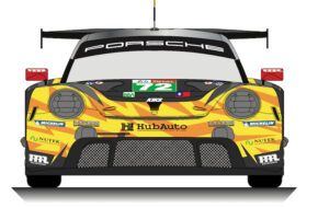 HubAuto Racing Porsche 911 RSR