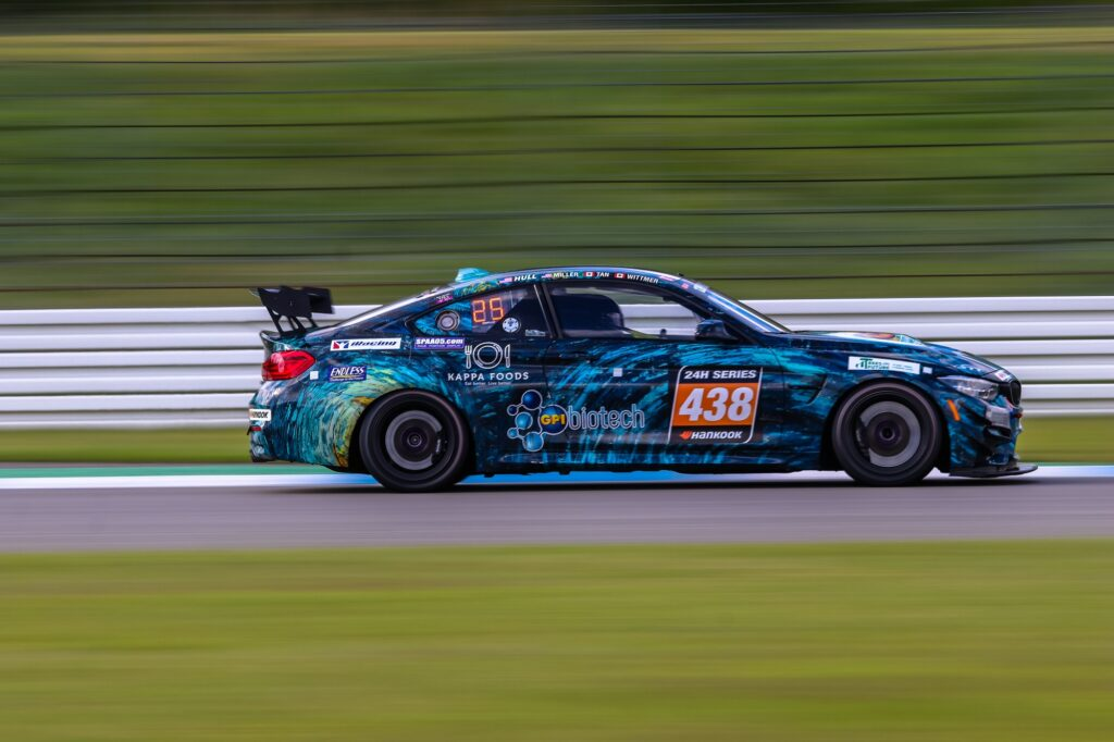 Nick Wittmer Jon Miller Chandler Hull Samantha Tan ST Racing BMW M4 GT4 24H Series Hockenheim
