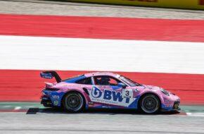 Dylan Periera BWT Lechner Racing Porsche 911 GT3 Cup Porsche Supercup Red Bull Ring