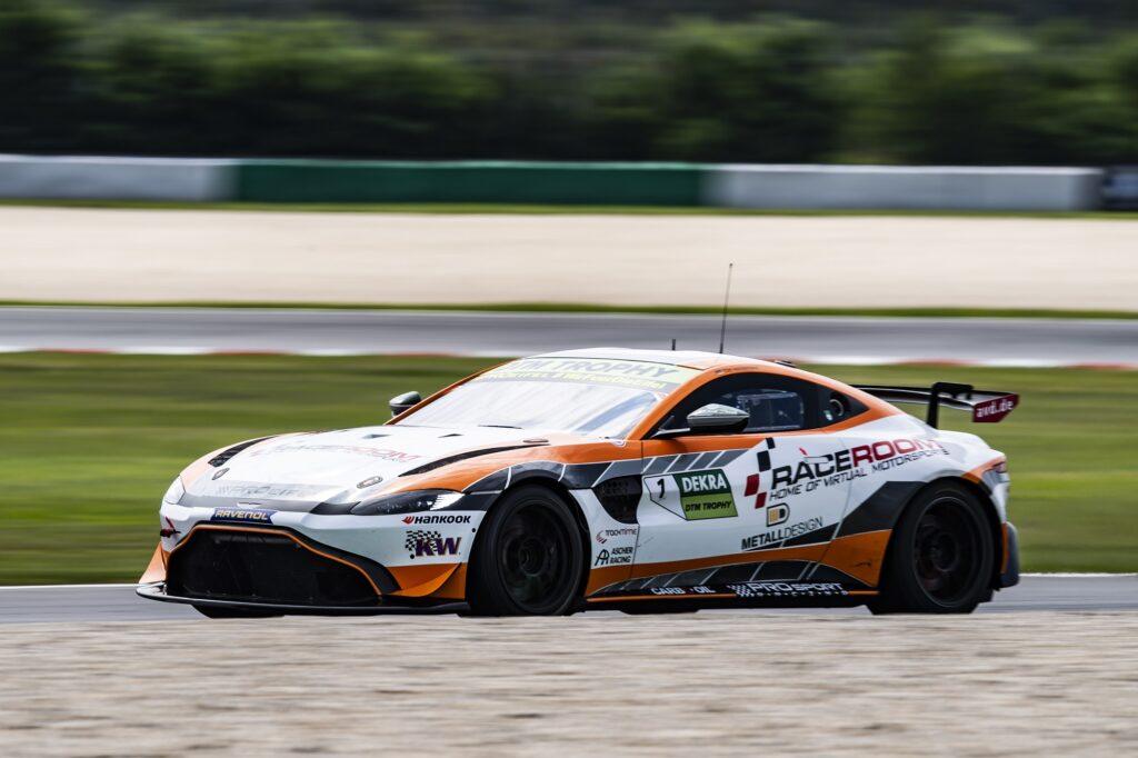 Tim Heinemann PROsport Racing Aston Martin Vantage AMR GT4 DTM Trophy Lausitzring