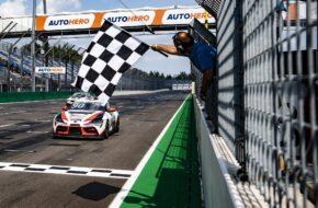 Nico Verdonck Ring Racing Toyota GR Supra GT4 DTM Trophy Lausitzring