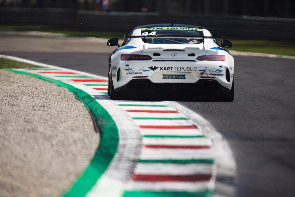 Matias Salonen CV Performance Group Mercedes-AMG DTM Trophy Monza