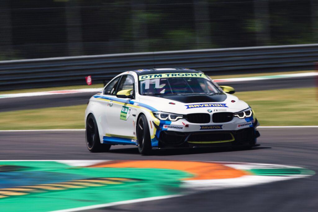Moritz Löhner FK Performance BMW M4 GT4 DTM Trophy Monza