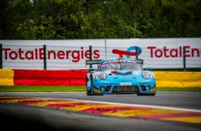Adrian Henry D'Silva Reid Harker Will Bamber Carlos Rivas EBM Giga Racing Porsche 911 GT3 R GT World Challenge Europe Endurance Cup 24h Spa