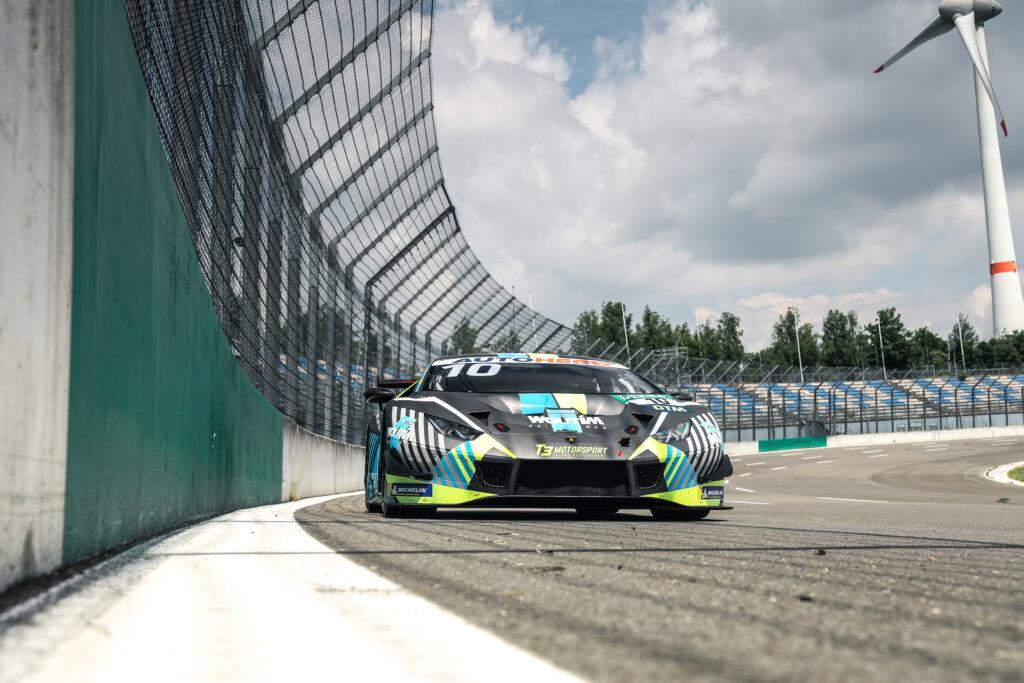Esteban Muth T3 Motorsport Lamborghini Huracan GT3 DTM Lausitzring