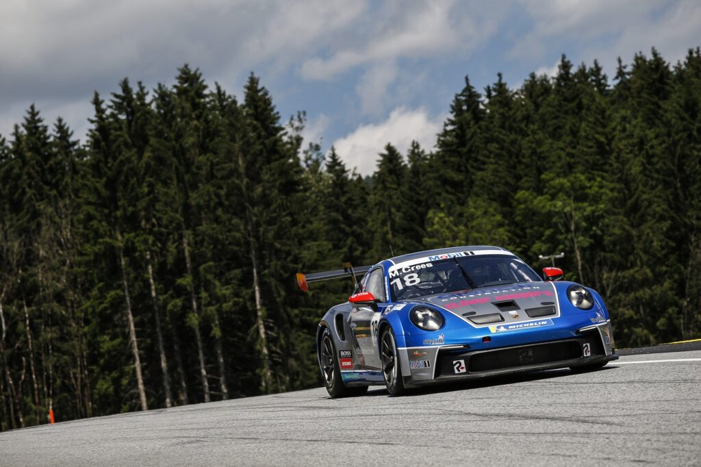 Michael Crees Parker Revs Motorsport Porsche 911 GT3 Cup Porsche Supercup Red Bull Ring