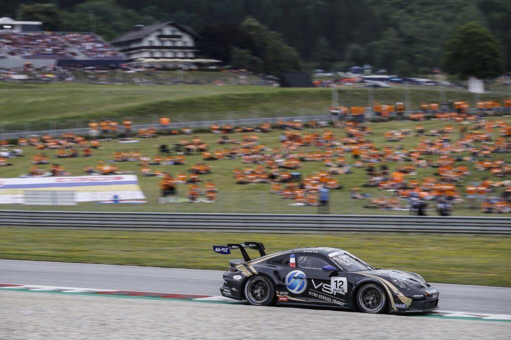 Steven Palette CLRT Porsche 911 GT3 Cup Porsche Supercup Red Bull Ring