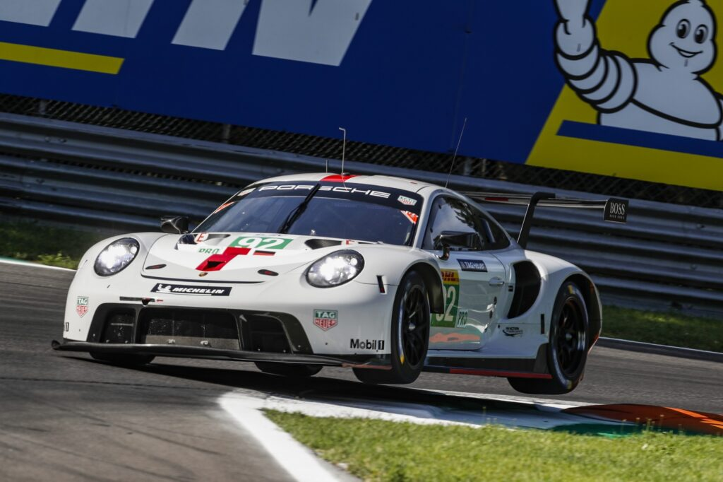 Kevin Estre Neel Jani Porsche GT Team Porsche 911 RSR FIA WEC Monza