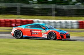 Lucas Mauron Heide-Motorsport Audi R8 LMS GT4 DTM Trophy Nürburgring
