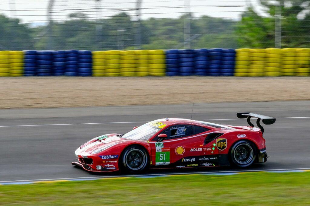 Alessandro Pier Guidi Côme Ledogar James Calado AF Corse Ferrari 488 GTE FIA WEC 24h Le Mans