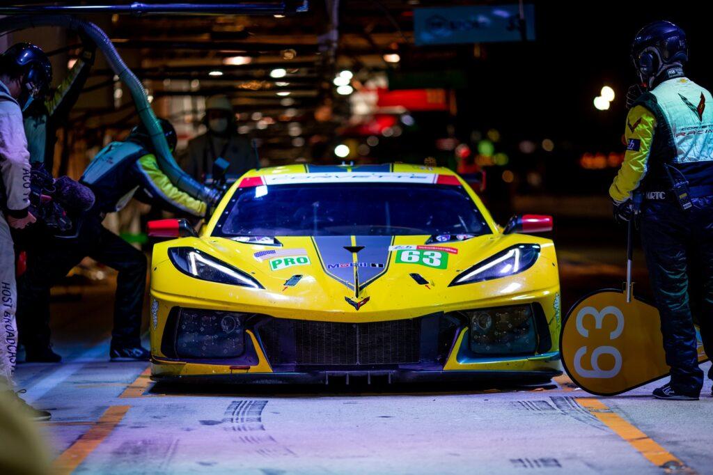 Antonio Garcia Jordan Taylor Nick Catsburg Corvette Racing Corvette C8.R FIA WEC 24h Le Mans