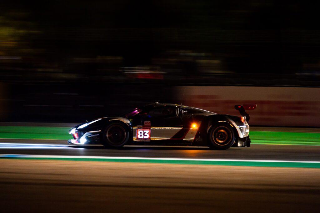 Francois Perrodo Nicklas NIelsen Alessio Rovera AF Corse Ferrari 488 GTE FIA WEC 24h Le Mans