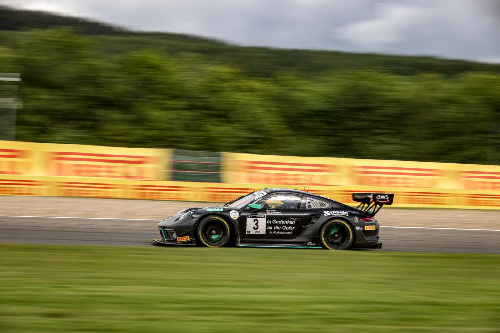 Dennis Olsen Frederic Makowieki Michael Christensen Schnabl Engineering Porsche 911 GT3 R GT World Challenge Europe Endurance Cup 24h Spa