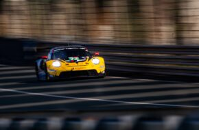 Alvaro Parente Dries Vanthoor Maxime Martin HubAuto Racing Porsche 911 RSR FIA WEC 24h Le Mans