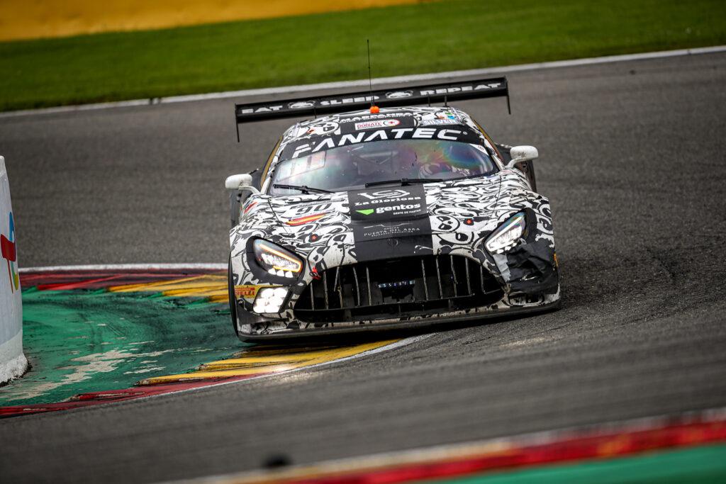 Ezequiel Perez Companc Ricardo Sanchez Patrick Kujala Rik Breukers Madpanda Motorsport Mercedes-AMG GT3 GT World Challenge Europe Endurance Cup 24h Spa