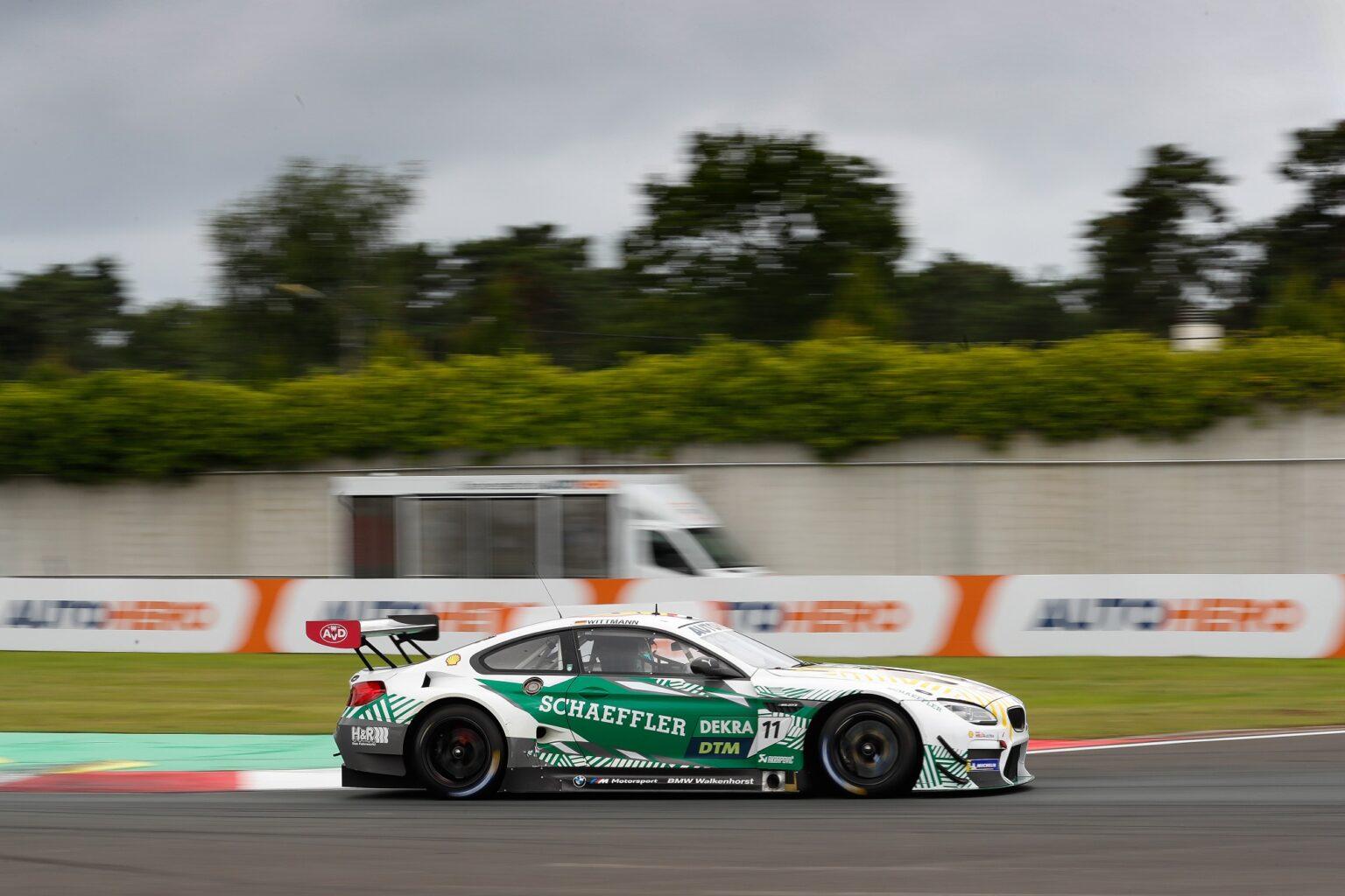 DTM: Debütsieg für Walkenhorst Motorsport - gt-place.com