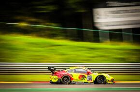 Pieder Devurtins Dennis Busch Marc Basseng Manuel Lauck Haegeli by T2 Racing Porsche 911 GT3 R GT World Challenge Europe Endurance Cup 24h Spa