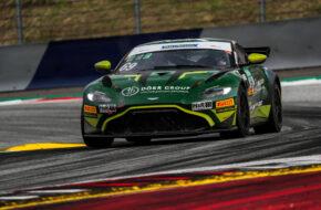 Andreas Wirth Phil Dörr Dörr Motorsport Aston Martin Vantage GT4 ADAC GT4 Germany Red Bull Ring